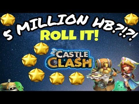 Castle Clash: Rolling 5 MILLION Honor Badges!
