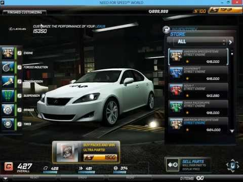Need For Speed World Money Hack 2017