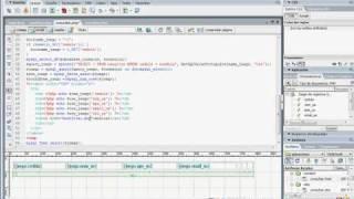 Consultar y modificar registros en DW dream weaver (PHP)