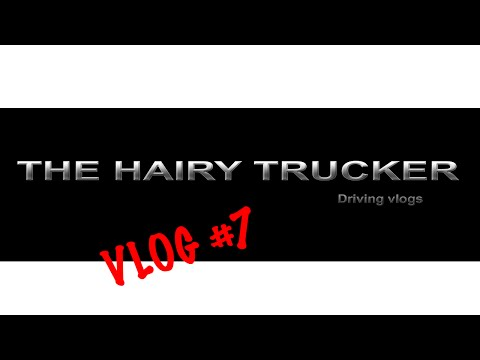 The Hairy Trucker Vlog #7 US trucking, Trucker appreciation and cyclists