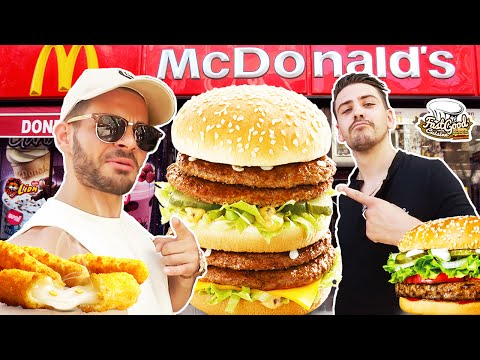 On teste un Mcdo en Turquie ! Feat Youtunes