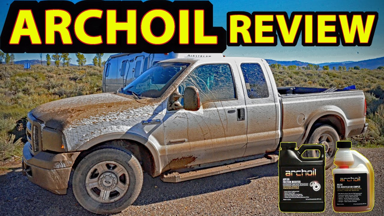 Review archoil oil fuel additives ar9100 ar6200 tested on our ford f250 6 0l diesel truck