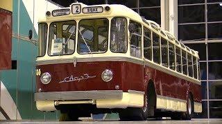 Ретро-троллейбусы ны выставке ''Urban transport -2017''- ВДНХ