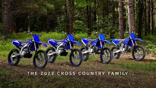 The 2022 Yamaha YZ250FX, YZ450FX, YZ250X and YZ125X—Born to compete