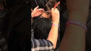 Nick Arrojo Razor Demo at The Millennium Experience