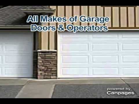 Calgary Garage Door Repair   Thomson Doors   YouTube