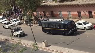 Salman khan arriving at jodhpur court