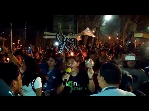 Non-Violent Demonstration outside U.S. Embassy in Honduras