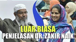 Penjelasan LOGIS Dr. Zakir Naik Membuat WANITA HINDU Ini MASUK ISLAM