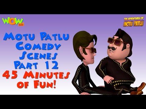 Motu Patlu comedy scenes Part 12 - Motu...