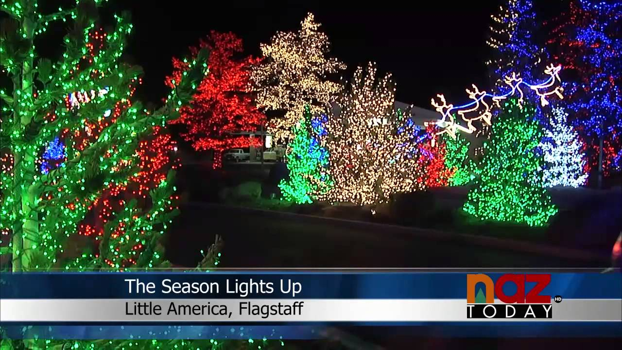Image result for flagstaff little america lights