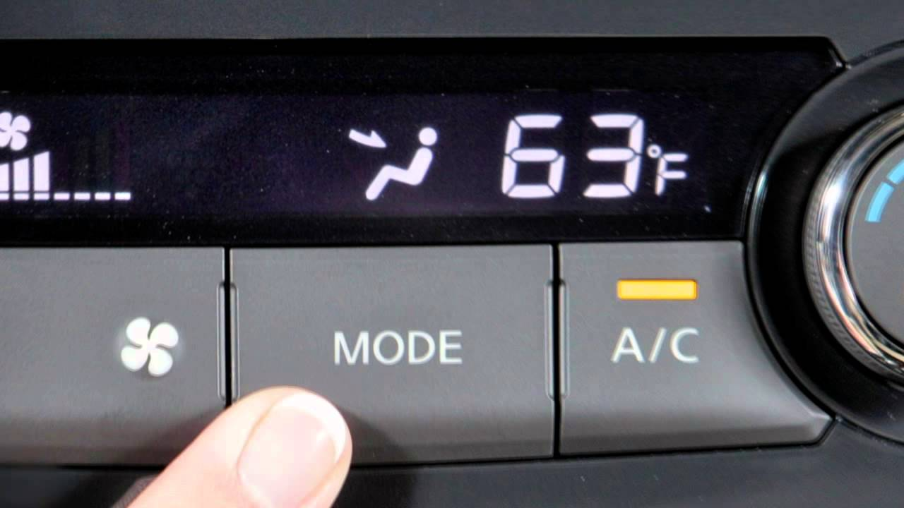 2013 nissan altima sedan automatic climate controls [ 1280 x 720 Pixel ]