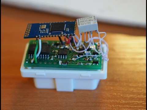 Bluetooth CanHacker на основе DrPopov CAN-SPI Board