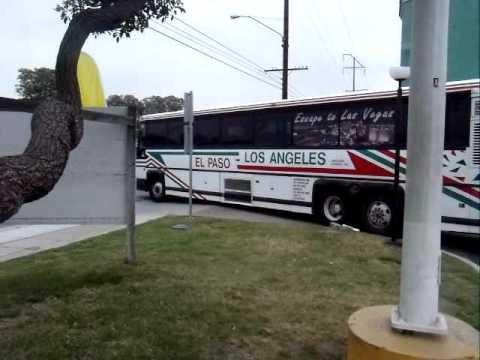 El Paso - Los Angeles Limousine Express #855 (Motor Coach Industries)