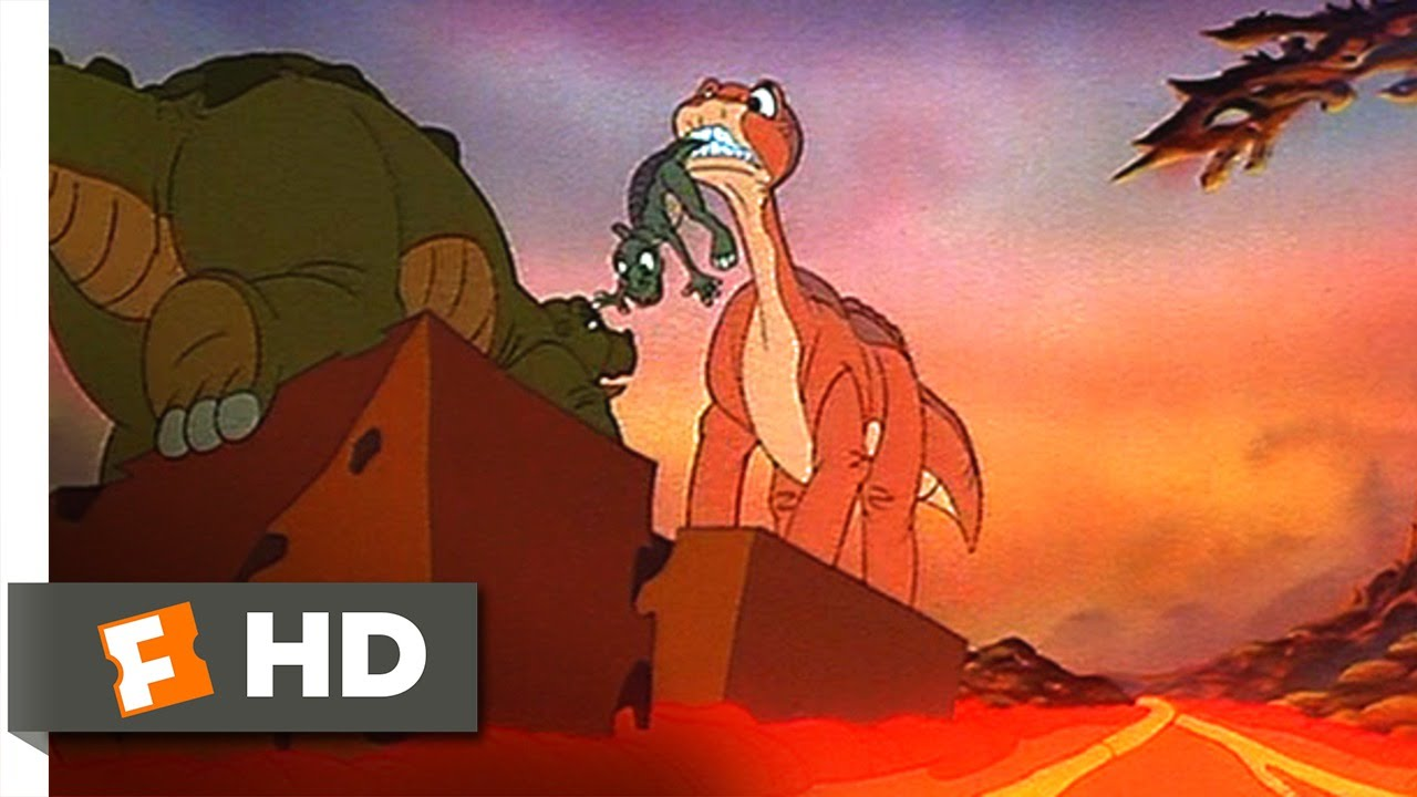 land before time the big freeze end credits