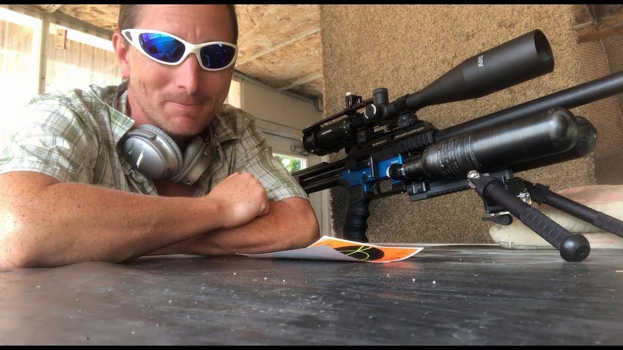 FX Impact X  30 700mm - 10 shots at 100 yards
