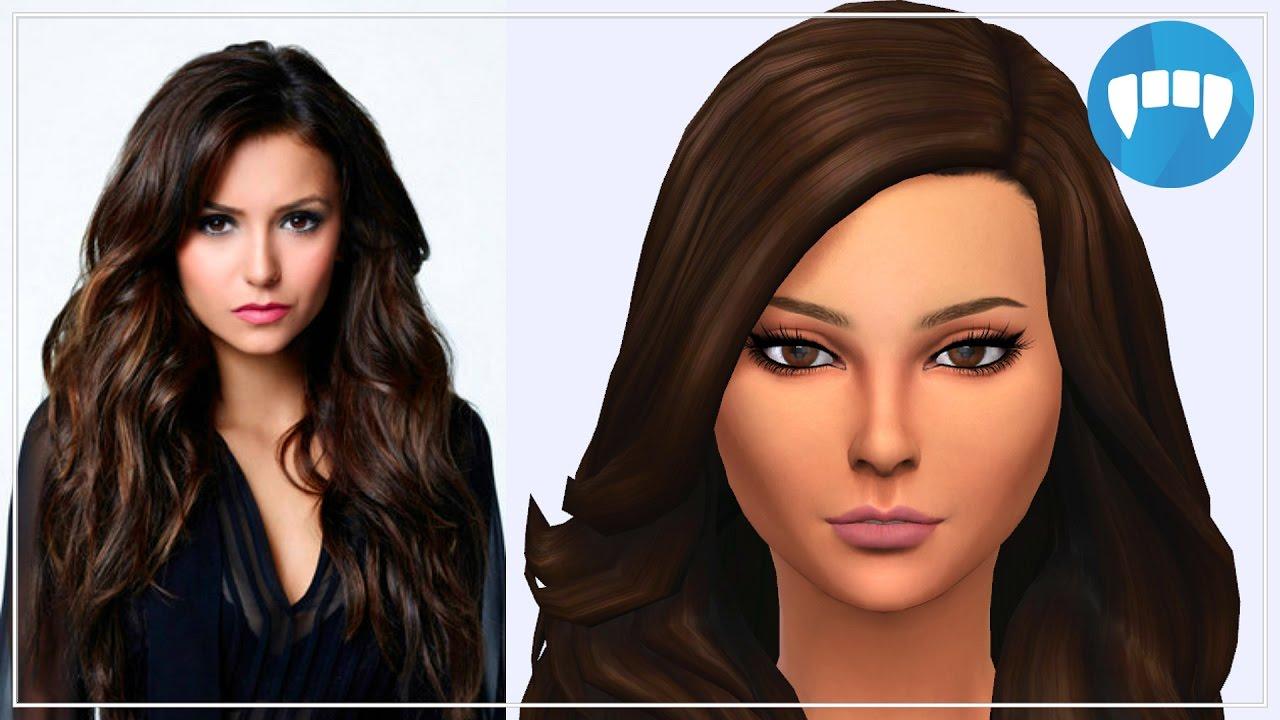 The Sims 4 Create A Sim Vampires Lookbook Elena Gilbert The Vampire Diaries