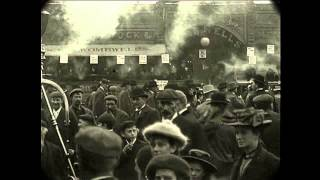 1902 Time Machine - Hull Circus/Fair in England (Speed Corrected w/ Sound)