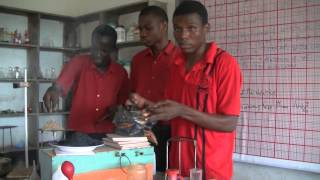 Omanbapa Water Project Mfantsipim School- Labwork