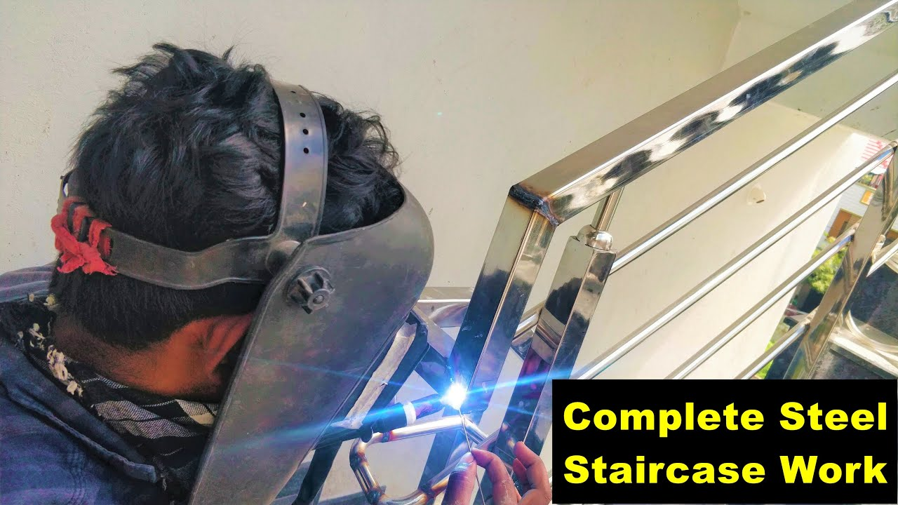 Steel Staircase Design & Installation-  Complete step by step instructions - A2Z Construction