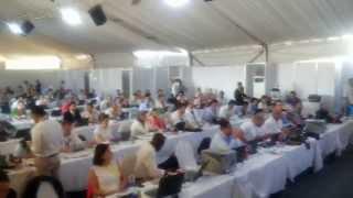مئات الصحفين فى افتتاح قناة السويس الجديدة