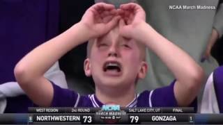 Kid Has VERY dramatic reaction to ref's bad call in NCAA Game