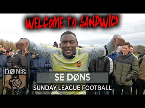 SE DONS   KENT CUP LAST 16   WELCOME TO SANDWICH   Sunday League Football