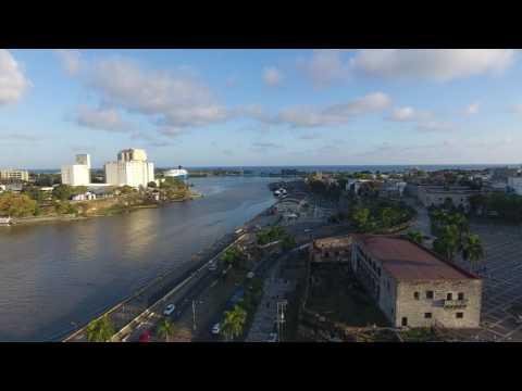 Drone Footage Colonial-Zone Dominican Republic
