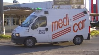 Ambulancia de Medi-Car en emergencia