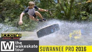 The Wakeskate Tour : 2016 Suwannee Pro