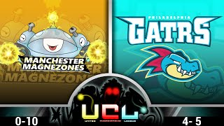 Manchester Magnezones vs Philadelphia Feraligatrs | UCL Week 11: | Pokémon ORAS Wifi Battle