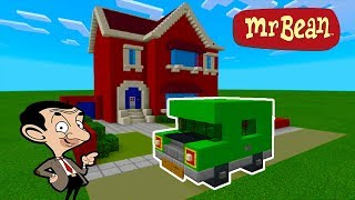 "Minecraft: How To Make Mr Beans Car ""Mr. Bean (animated TV series)"""