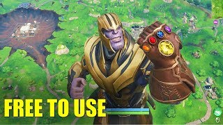 Fortnite X Avengers Event - Free To Use Gameplay (60 FPS)