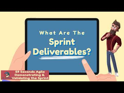 The Agile Sprint Deliverables with 59 Seconds Agile