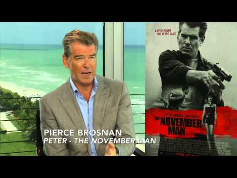 THE NOVEMBER MAN Interview with Pierce Brosnan