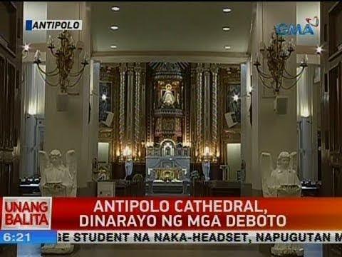 UB: Antipolo cathedral, dinarayo ng mga deboto