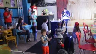 Шоу мыльных пузырей День рождения Каролины 3 года