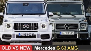 Old Vs New Mercedes G63 Amg ► Side By Side Comparison