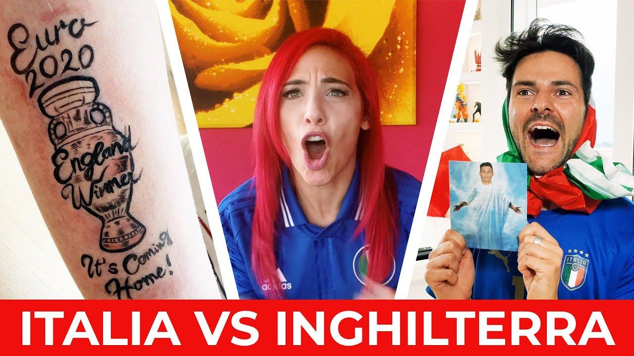 ITALIA VS INGHILTERRA🇮🇹🏴 - LA PARODIA - iPantellas & Himorta