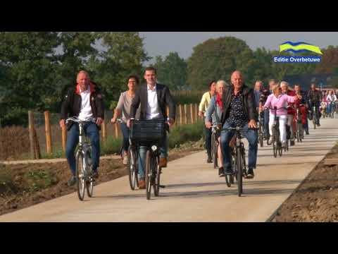Opening fietspad Mozartstraat Elst  -  Park Lingezegen