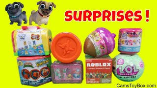 Surprise Toys LOL Lil Sisters RARE Puppy Dog Pals Roblox Series 2 Shopkins MLP Fashems