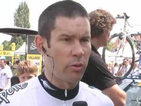 Julian Dean Stage 21 - 2008 Tour de France