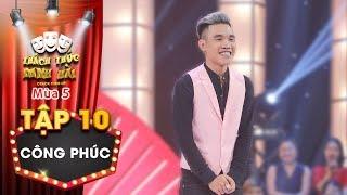 Thách thức danh hài 5|Tập 10: Trấn Thành Trường Giang thích mê khi thí sinh thể hiện vũ đạo lôi cuốn