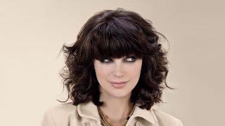 Стрижка каре градуированное на кудрявый волос