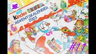 Киндер Сюрприз. Адвент календарь 2003 года #11. Kinder Surprise 2003