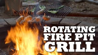 ROTATING Fire Pit Grill