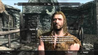 Let's Play The Elder Scrolls V - Skyrim: Part 1 - Parky the Nord