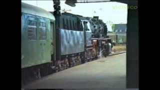 DDR  7 Okt 1987 von  Karl Marx Stadt HBF nach Rochlitz Mit DampfLok 50 3551-4