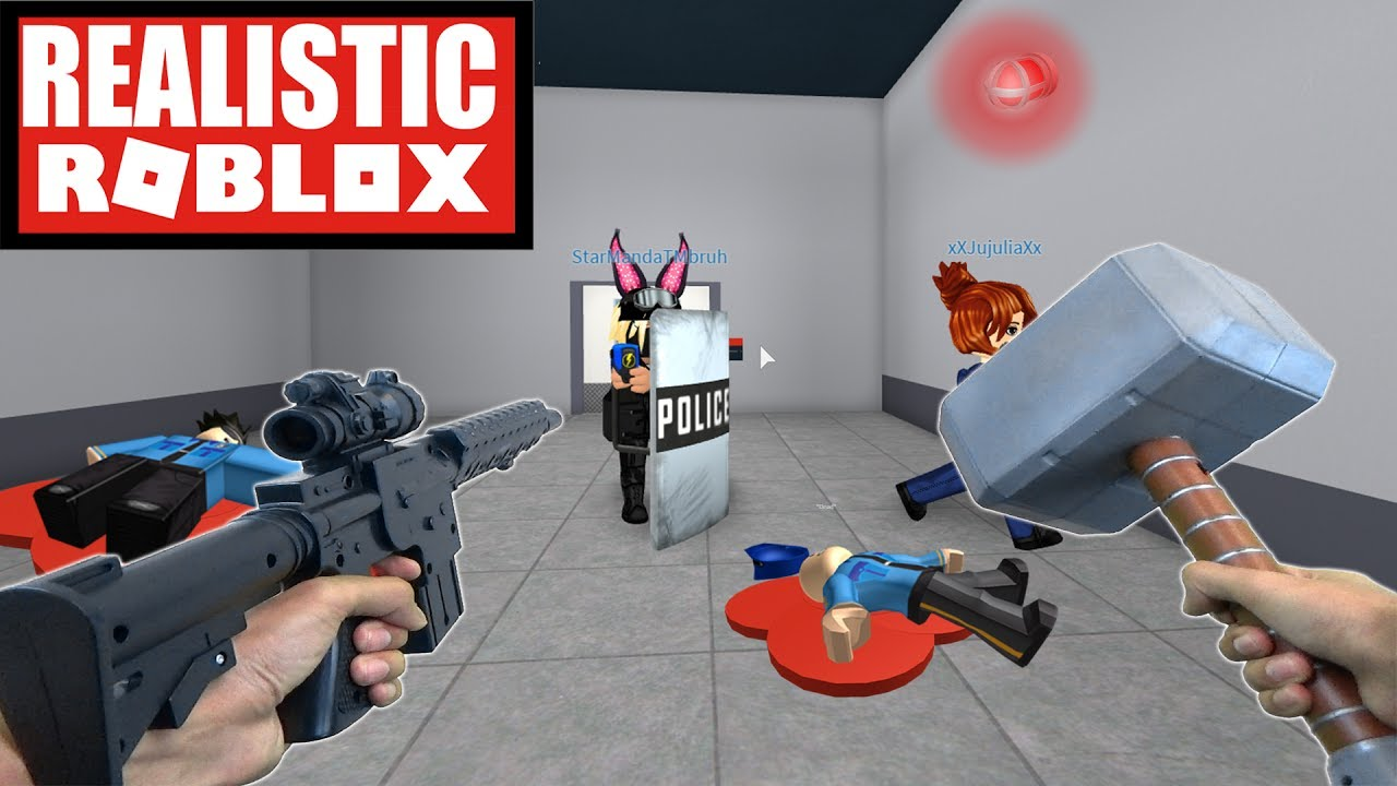 REALISTIC ROBLOX - ESCAPING ROBLOX PRISON IN REAL LIFE! ROBLOX IRL PRISON ESCAPE! (JAIL BREAK)
