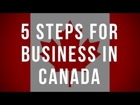 5 steps for business in Canada